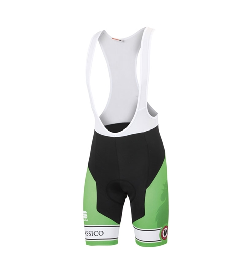 Green Cycle Bib Shorts