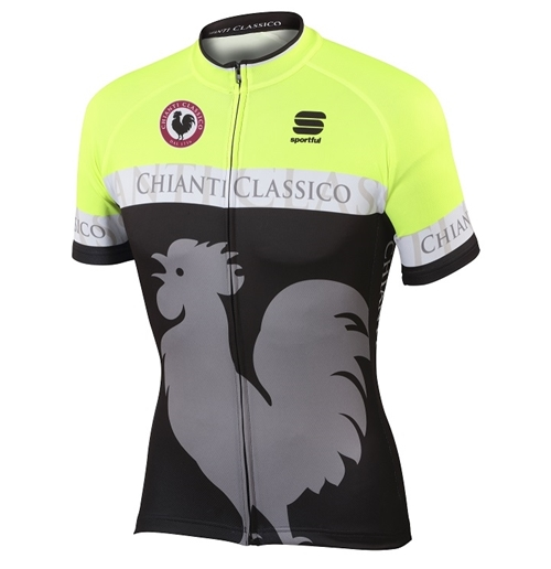 2016 Yellow Cycle Jersey