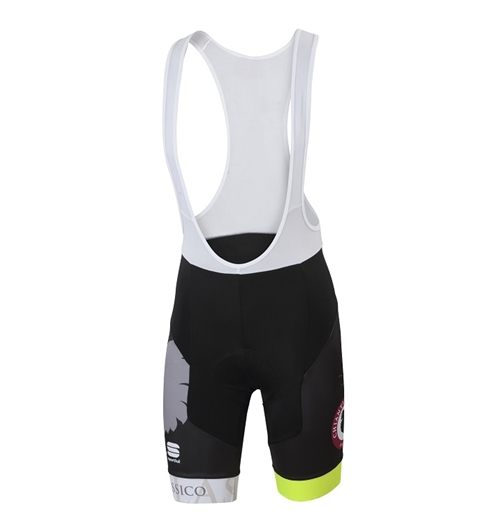 Black/Yellow Chianti Classico Cycle Bibshort