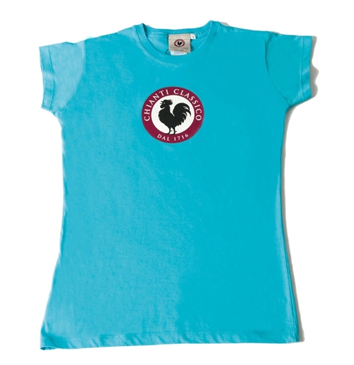 Turquoise Woman T-shirt