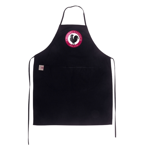 Apron Brand Name Black
