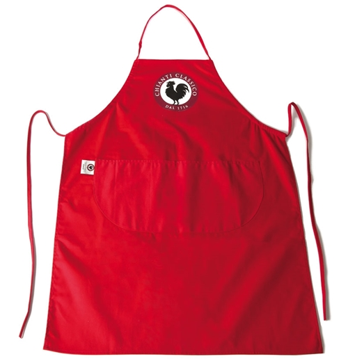 Apron Brand Name Red