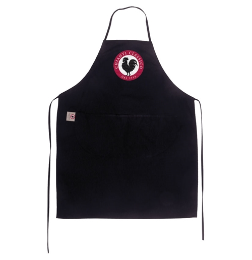 Embroidered Apron Black Logo