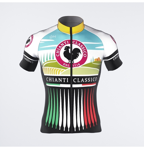 Chianti Classico-Cypress Trees short-sleeved Jersey